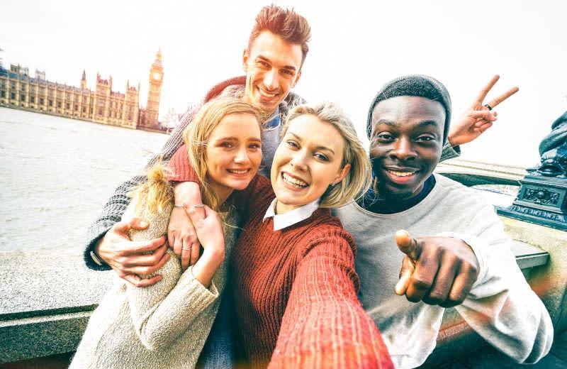 Selfie em Londres